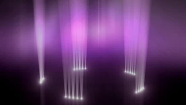 Up-Licht Ring rotiert Hintergrund Loop-Pink