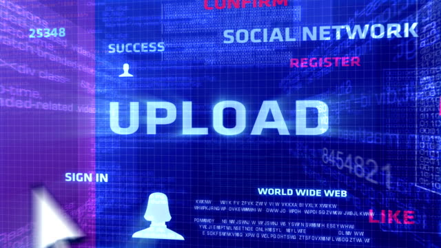 Upload Button In The Digital World