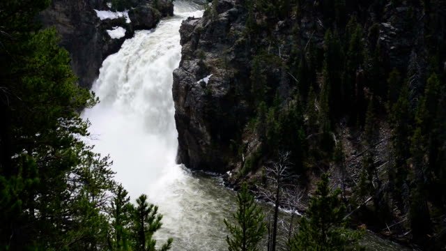 Upper Falls in Yellowstone National Park, Wyoming