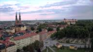Uppsala city from above