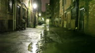Urban Alleyway