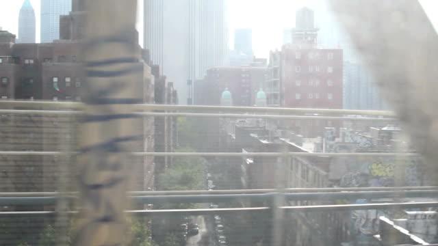 urban scene in slow motion