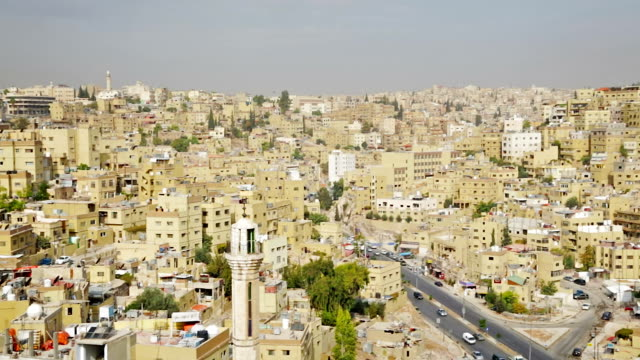 Urban scene of Amman, Jordan