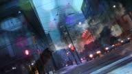 Urban scene /Traffic & Pollution