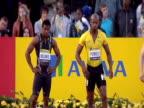 Usain Bolt wins Men's 100m final Aviva Grand Prix Crystal Palace July 2009