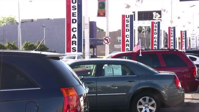 used cars. car dealership