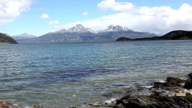 Ushuaia National Park Nature Landscape, Patagonia, Argentina
