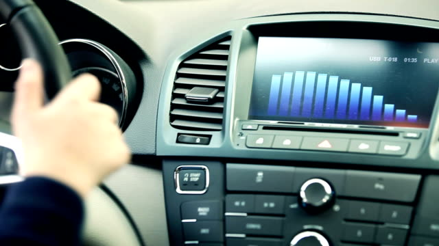 Using car audio stereo system