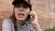 Using Mobile Phone In Public Park