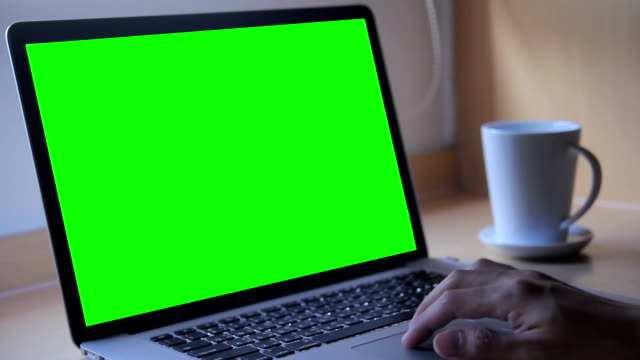 Using on Laptop with green screen