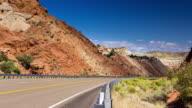 Utah Canyon Highway - Timelapse