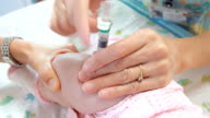 Vaccinated infants
