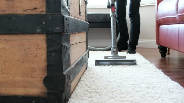 Vacuum Cleaner in Home