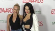 Valentina Nappi and AJ Applegate at the 2017 AVN Awards Nomination Party at Avalon Nightclub on November 17 2016 in Hollywood California