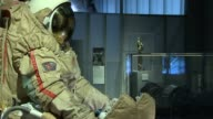 Valentina Tereshkova launches exhibition of Soviet spacecraft at Science Museum Spacesuit on display