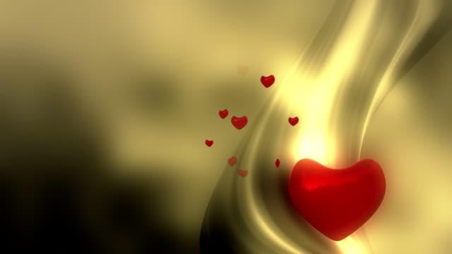 Valentine's card background loop