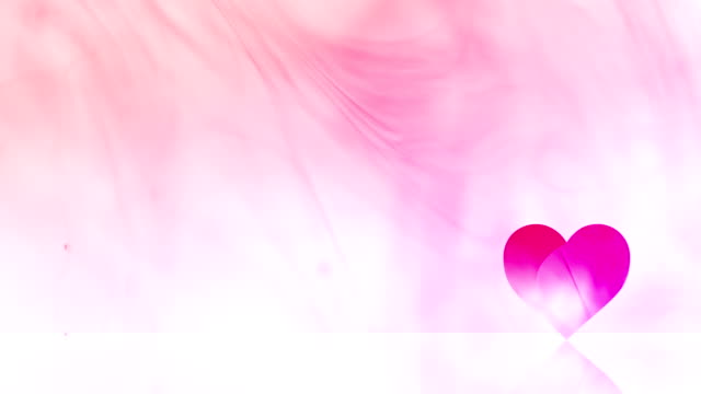 Valentines Day Background - Lower Third Heart
