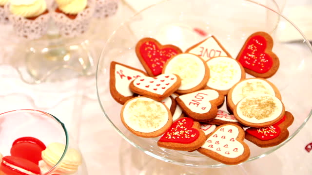 Valentinstag-cookies