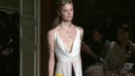 CLEAN Valentino Haute Couture Paris Fashion Week 2016 on January 27 2016 in Paris France