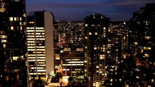 Vancouver Cityscape time-lapse