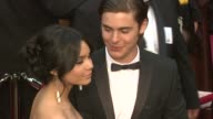 Vanessa Hudgens and Zack Efron at the 81st Academy Awards Arrivals Part 5 at Los Angeles CA