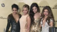 Vanessa Hudgens Ashley Tisdale Selena Gomez Sarah Hyland at The Weinstein Company's 2013 Golden Globe Awards After Party on 1/13/13 in Beverly Hills...