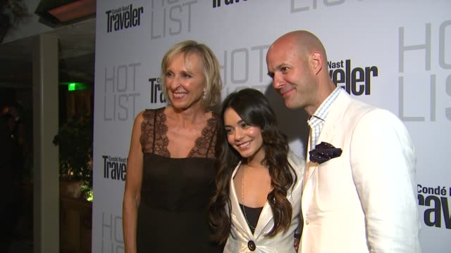 Vanessa Hudgens at the Conde Nast Traveler Hot List Party at West Hollywood CA
