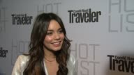 Vanessa Hudgens on the event at the Conde Nast Traveler Hot List Party at West Hollywood CA