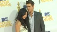 Vanessa Hudgens Zac Efron at the 2010 MTV Movie Awards at Universal City CA