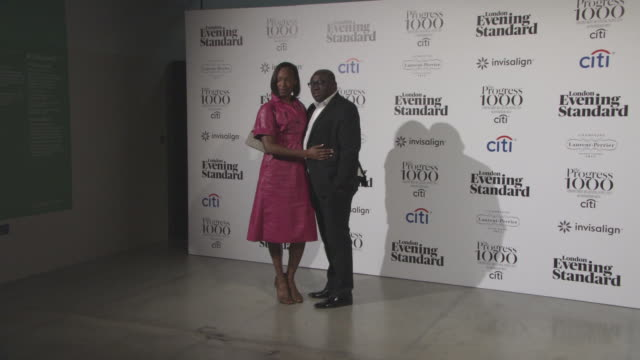 Vanessa Kingori Edward Enninful at The Progress 1000 London's Most Influential People in partnership with Citi and sponsored by Invisalign UK on...