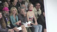 Vanessa Paradis and her daughter Lily Rose Depp Model Cara Delevingne Kaya Scodelario Ines de la Fressange Maria Sharapova fame photographer Jean...