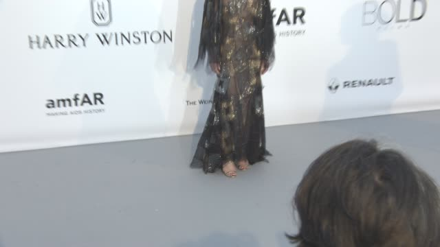 Vanessa Paradis at amfAR's 23rd Cinema Against AIDS Gala Arrivals at Hotel du CapEdenRoc on May 19 2016 in Cap d'Antibes France
