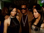 Vanessa Simmons Sean 'Diddy' Combs and Angela Simmons at the Pastry Celebrates One Year Anniversary with Intimate Bash at Mr Chow at NULL in Beverly...