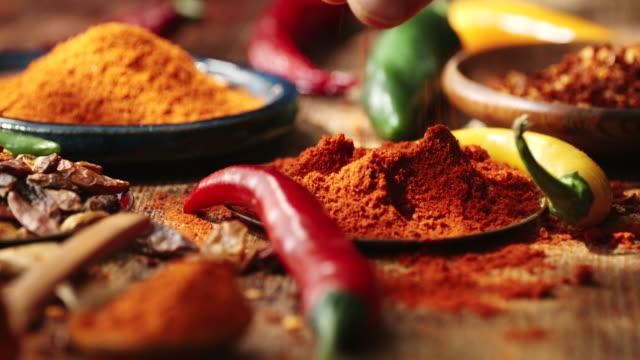 Variatie van specerijen en kruiden