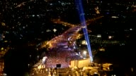 Various aerial shots from July 15 Martyrs Bridge shows that people attending the July 15 Democracy and National Unity Day's events marking July 15...