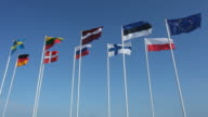 various country flags