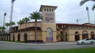 Various exterior shots of the spring home of the Detroit Tigers Joker Marchant Stadium in Lakeland Florida on March 23 Wide exterior shots of Joker...