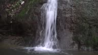 Various shots fro a newly discovered waterfall in a hazelnut yard in Akcakoca town Duzce Turkey on April 23 2017 Ceyhun Ustabas who discovered the...