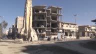 Various shots from the center of AlBab town after its liberation from Daesh terrorist group as part of Turkishled Operation Euphrates Shield in...