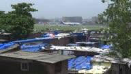 Various shots of planes at Mumbai's Chhatrapati Shivaji International Airport