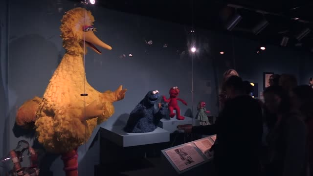 Various shots of the Jim Henson Exhibition at Museum of the Moving Image on July 29 2017 in the Queens borough of New York City Interview with Tomoko...