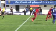Various shots of the Palestine Cup soccer match between Ahli AlKhalil and Shabab Rafah at Yarmouk Stadium in Gaza City Gaza on August 01 2017