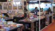 Various shots of the the 37th International Paris Book Fair at the Porte de Versailles exhibition centre in Paris France on March 25 2017