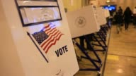 various views of polling stations and people voting Polling Stations in NYC on November 06 2012 in New York New York