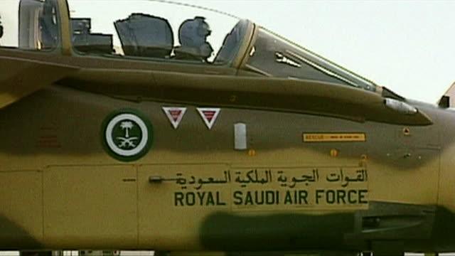 Various views of Saudi Arabian military vehicles