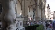 Vasari's Courtyard, Vecchio Palace, Florence, Tuscany, Italy, Europe