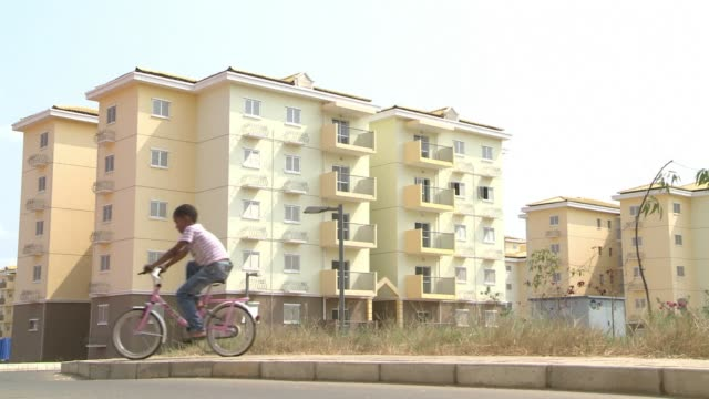 A vast Chinesebuilt satellite town on the outskirts of Angolas capital has been hailed as the answer to the citys housing shortfall but critics...