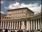 Vatikanstadt: Gib in der Papst am Fenster