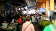 vegetable market in morning