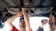 Vehicle repair.
